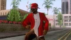 Crips & Bloods Ballas Skin 7 pour GTA San Andreas