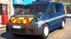 Peugeot Expert Gendarmerie 2017 für GTA 4