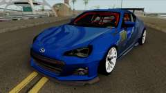 Subaru BRZ LM Race Car für GTA San Andreas