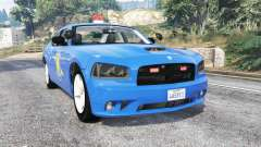 Dodge Charger Michigan State Police [replace] pour GTA 5