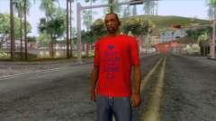 Keep Calm and Love CJ T-Shirt für GTA San Andreas