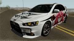 Mitsubishi Lancer Evolution X Date A Live für GTA San Andreas