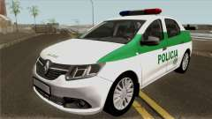 Renault Logan Policia Colombia