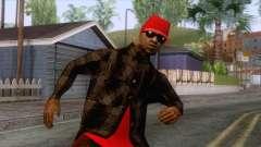 Crips & Bloods Ballas Skin 3 pour GTA San Andreas