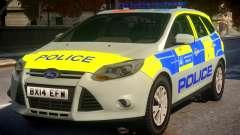 Police Ford Focus Estate IRV TFL Version pour GTA 4