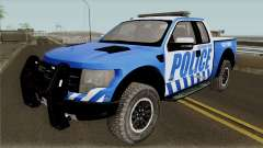 Ford F-150 Raptor 2016 Red County Police pour GTA San Andreas
