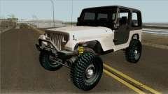Jeep Wrangler Rustico pour GTA San Andreas
