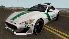 Maserati Gran Turismo Dubai Police 2013 pour GTA San Andreas