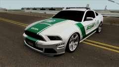 Ford Mustang Shelbi GT 500 2013 Dubai Police für GTA San Andreas