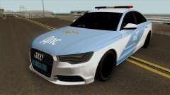 Audi A8 Police pour GTA San Andreas