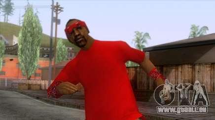 Crips & Bloods Ballas Skin 8 pour GTA San Andreas