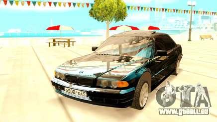 BMW 750i E38 pour GTA San Andreas