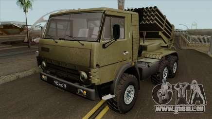 KamAZ-5410 BM-21 Grad für GTA San Andreas