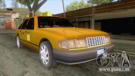 New Taxi HD für GTA San Andreas