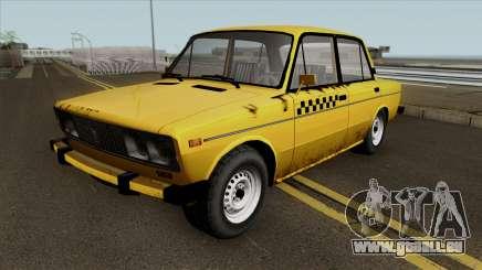 VAZ 2106 SA Style Taxi pour GTA San Andreas