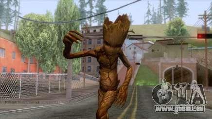 Marvel Future Fight - Groot (Infinity War) für GTA San Andreas