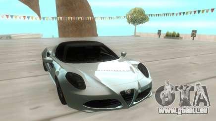 Alfa Romeo 4C 15 pour GTA San Andreas