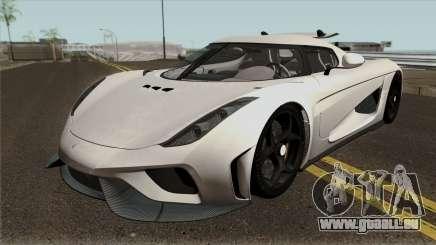 Koenigsegg Regera Project 2018 für GTA San Andreas