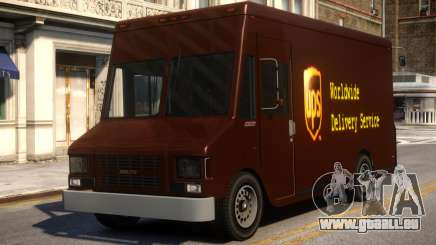 UPS Boxville pour GTA 4
