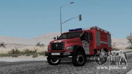 GAZon À Côté Du Feu pour GTA San Andreas