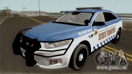 Ford Taurus 2013 Red County Police pour GTA San Andreas