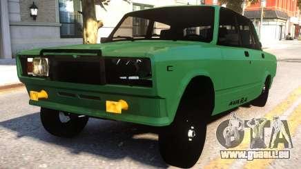 VAZ 2107 Avara Style pour GTA 4