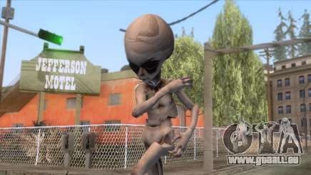 The Hum Abductions - Grey Alien Skin pour GTA San Andreas