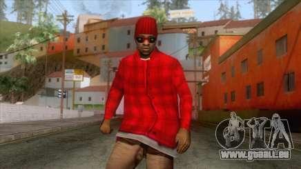 Crips & Bloods Ballas Skin 5 pour GTA San Andreas