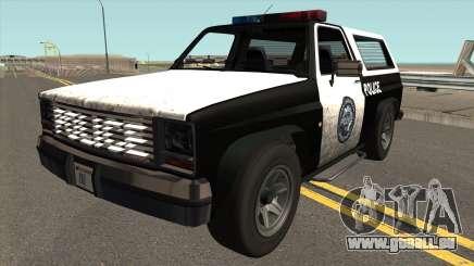 Declasse Rancher Police pour GTA San Andreas