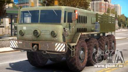Military Russia Army MAZ 535 pour GTA 4