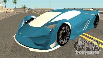 Pegassi Tezeract GTA V für GTA San Andreas