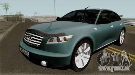Infinity FX45 2007 pour GTA San Andreas