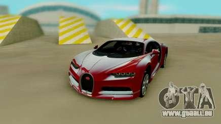 Bugatti Chiron Red für GTA San Andreas