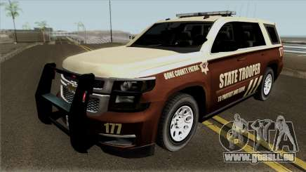 Chevrolet Tahoe 2015 Bone County Police pour GTA San Andreas