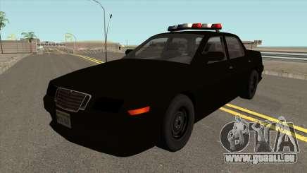 La voiture de Police du 2ème Niveau de Traçage de NFS MW v2 pour GTA San Andreas