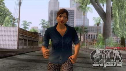 GTA 5 - Female Skin v1 pour GTA San Andreas