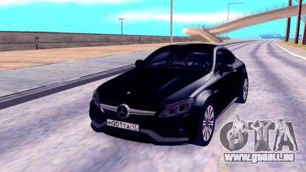 Mercedes-Benz C63 für GTA San Andreas