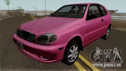 Daewoo Lanos Hatchback 1.6 16V 2001 (US-Spec) pour GTA San Andreas