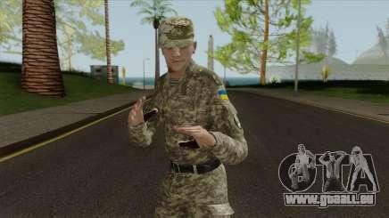 Un Officier Des Forces Armées De L'Ukraine pour GTA San Andreas