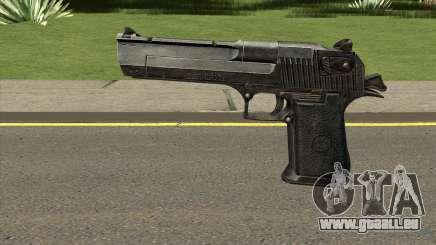 HD Desert Eagle (With HQ Original Icon) für GTA San Andreas