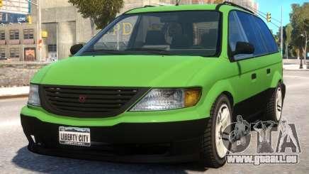 Minivan to Dodge Grand Caravan pour GTA 4