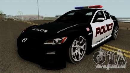 Mazda RX-8 Police SCPD 2011 pour GTA San Andreas