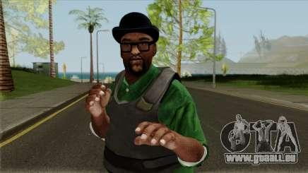 Big Smoke Vest Skin (Legacy Version) pour GTA San Andreas