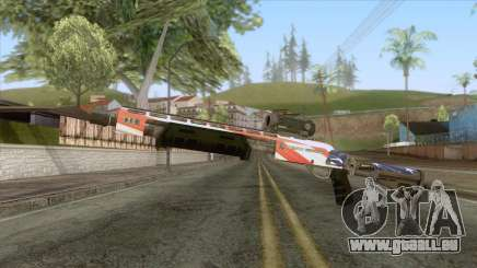 The Doomsday Heist - Shotgun v2 für GTA San Andreas