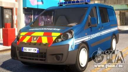 Peugeot Expert Gendarmerie 2017 pour GTA 4