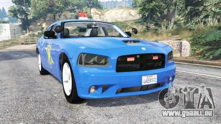 Dodge Charger Michigan State Police [replace] für GTA 5