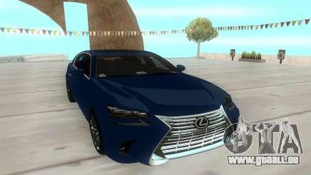 Lexus GS350 2018 für GTA San Andreas