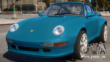 Porsche 911 Turbo 1995 pour GTA 4