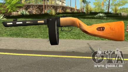 PPSH-41 LowPoly pour GTA San Andreas