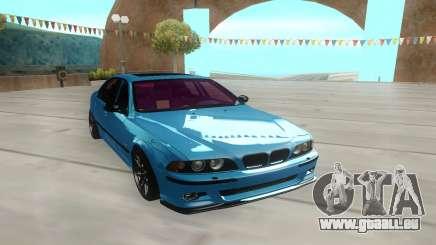 BMW M5 E39 azure für GTA San Andreas